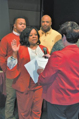 Ericka Copeland Dansby swearing in